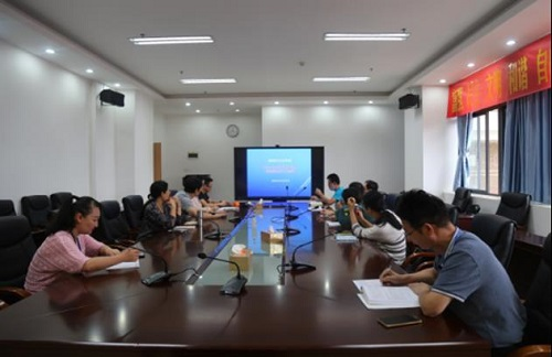 教务科召开2020-2021学年第一学期——第一次专业科主任会议